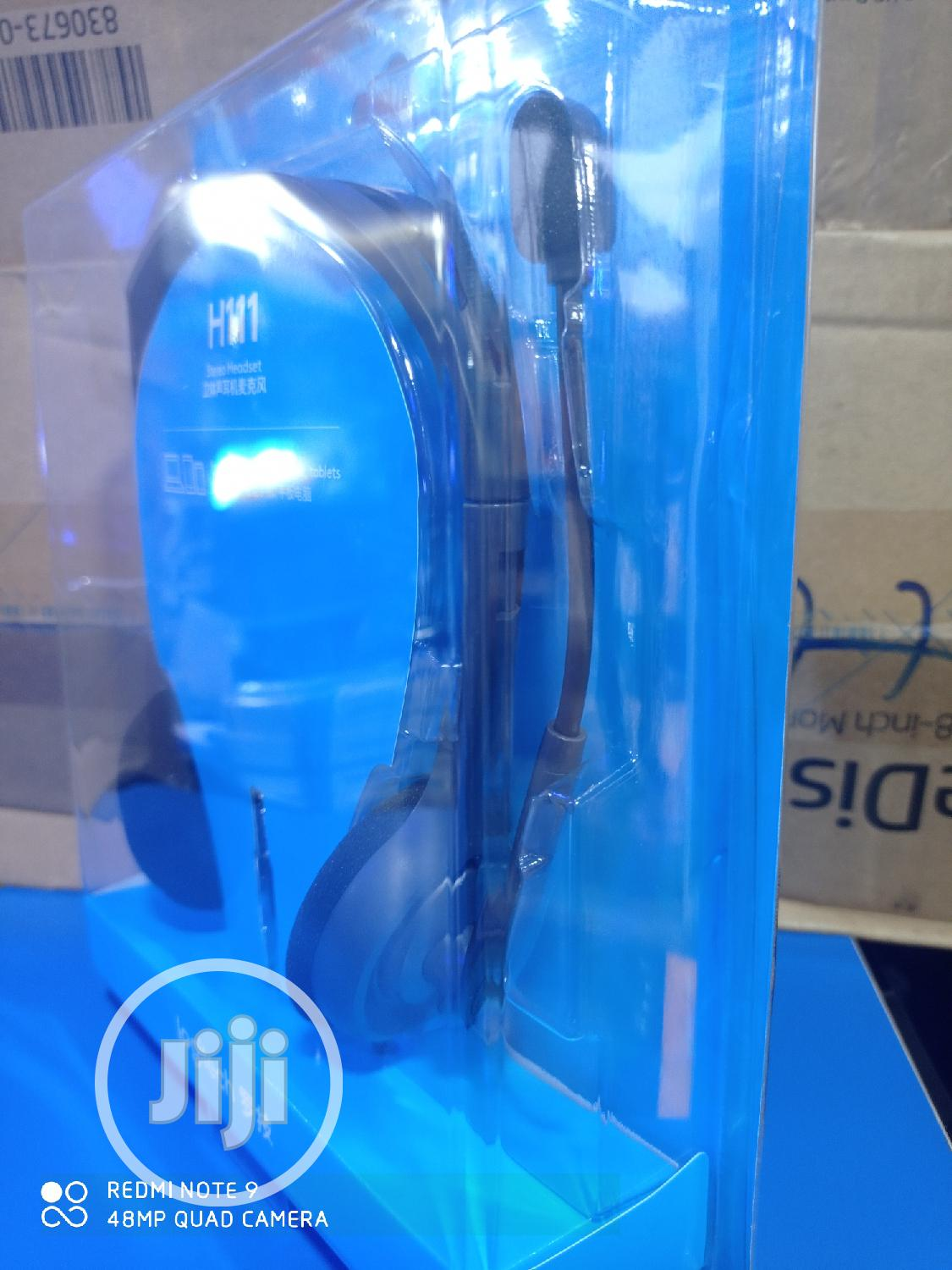 Logitech H111 Stereo Headset | Headphones for sale in Port-Harcourt, Rivers State, Nigeria