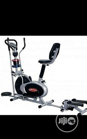 Orbitrac Bike With Stepper and Twister   Sports Equipment for sale in Lagos State, Surulere