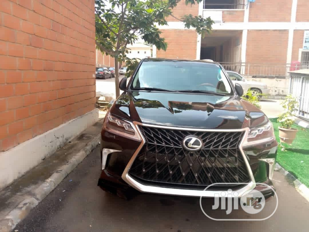 Archive: Lexus LX 570 2012 Black
