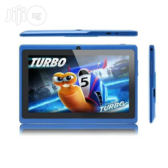 Kids Educational Tablet PC With Free Keyboard Case Blue | Toys for sale in Port-Harcourt, Rivers State, Nigeria