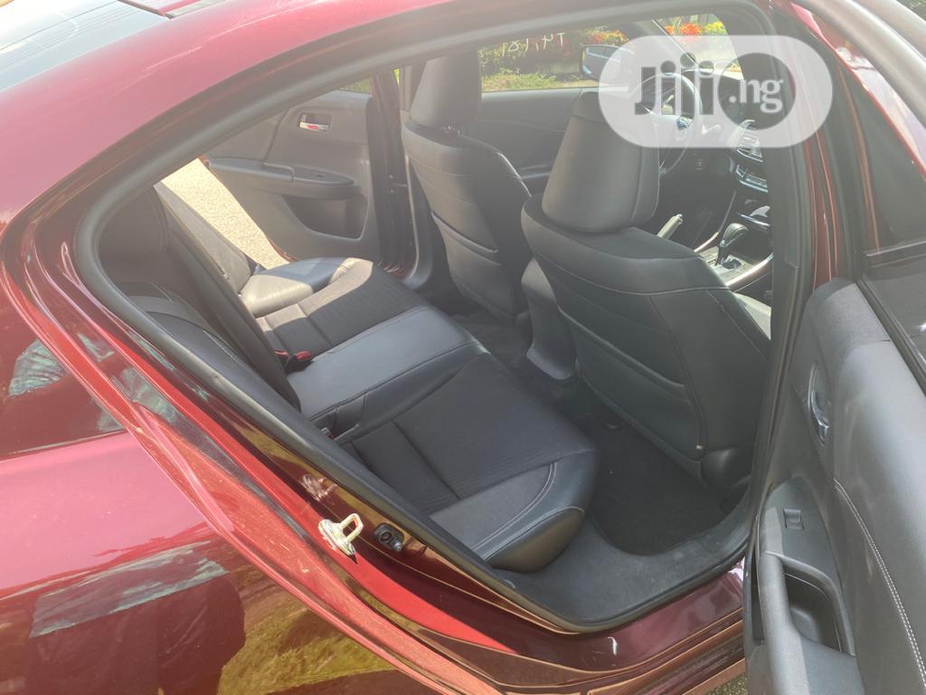 Honda Accord 2016 Red | Cars for sale in Gwarinpa, Abuja (FCT) State, Nigeria