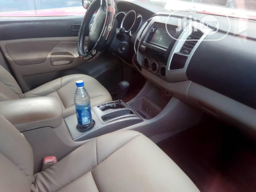 Toyota Tacoma 2009 Access Cab Red | Cars for sale in Benin City, Edo State, Nigeria