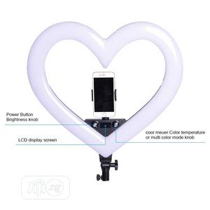 18cm/8inches Heart Ring Light | Accessories & Supplies for Electronics for sale in Abuja (FCT) State, Wuse