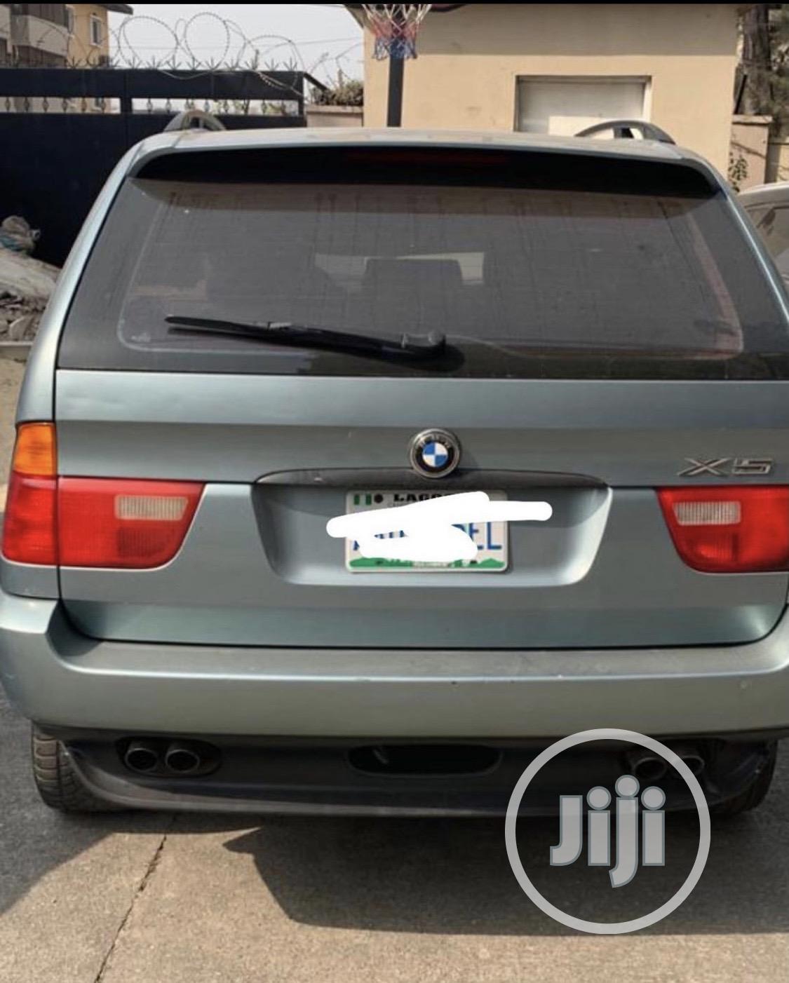 Archive: BMW X5 2005 4.4i Green