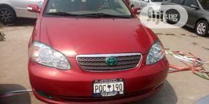 Toyota Corolla 2004 1.8 TS Red   Cars for sale in Lagos State, Apapa