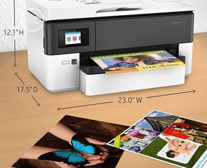 HP Officejet Pro 7720 A3 Wireless All-in-one Printer | Printers & Scanners for sale in Lagos State, Ikeja