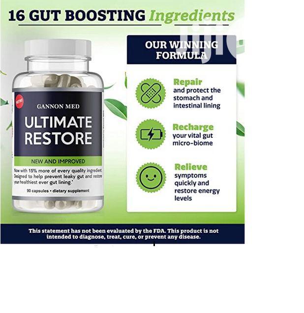 GANNON MED Ultimate Restore -Max Total Restore of Leaky Gut