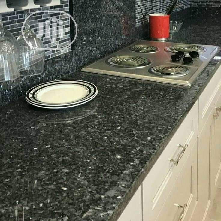 Kitchen Cabinets And Marbles On Top   Furniture for sale in Lekki, Lagos State, Nigeria
