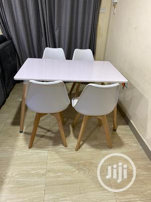 Super Quality Set of Imported Dinning Table With 4 Chairs   Furniture for sale in Lagos State, Ojo
