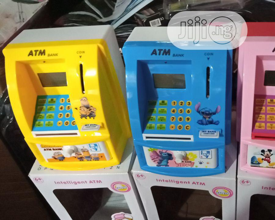 Intelligent ATM Piggy Bank For Both Adult & Childen