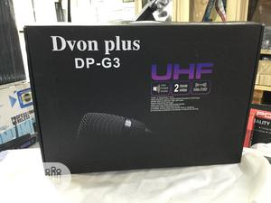 Dvon Plus 2in1 UHF Wireless Microphone   Audio & Music Equipment for sale in Abuja (FCT) State, Wuse