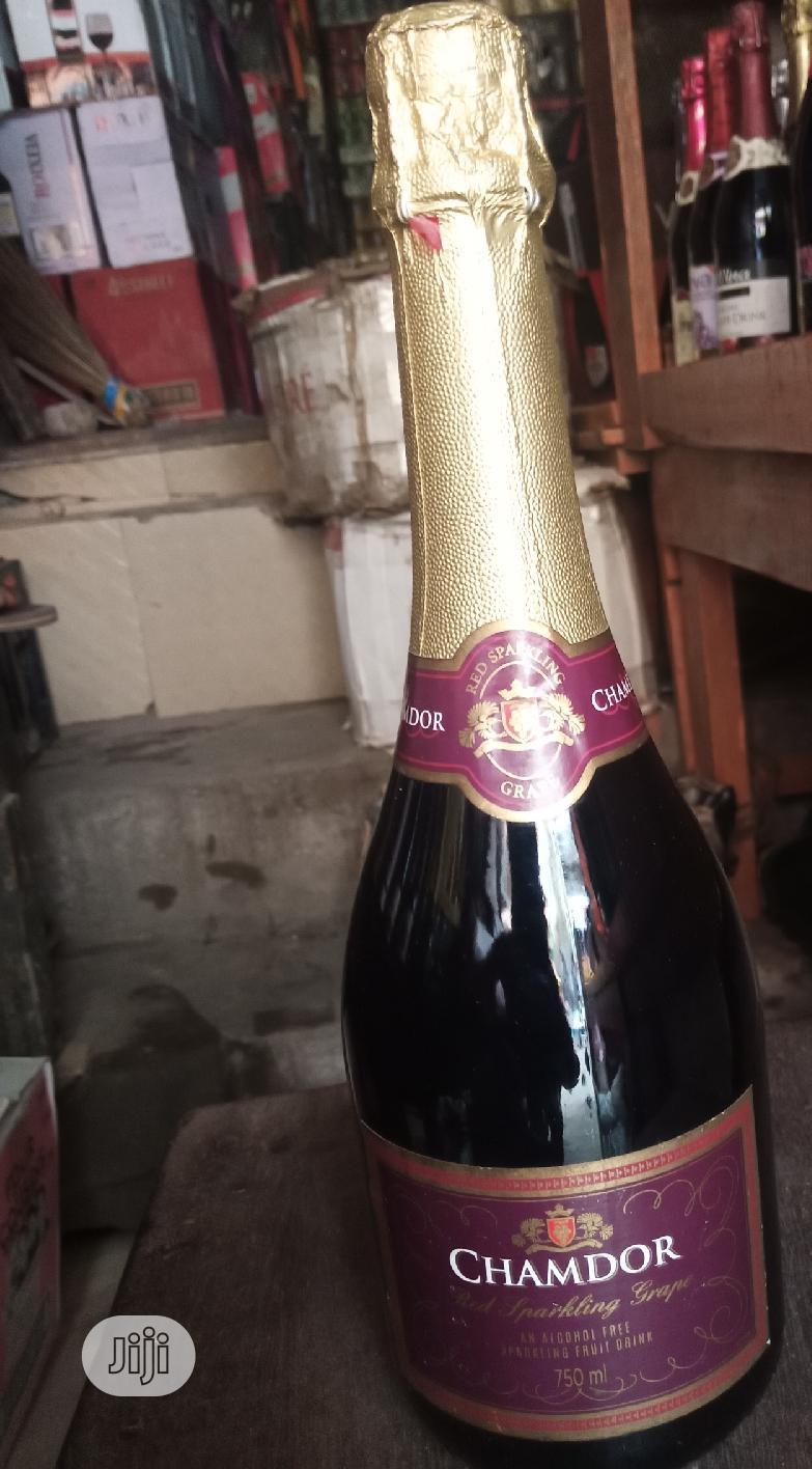 Chamdor Red Sparkling Grape Fruit Wine 2bottles