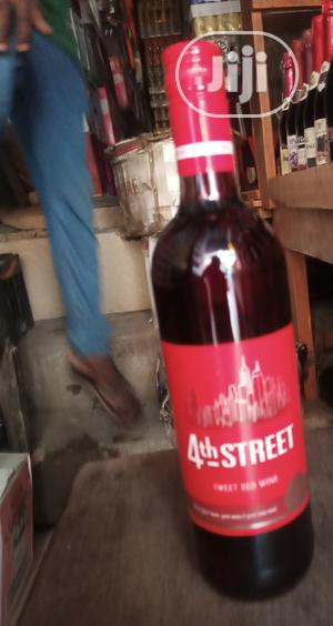 4th Street Sweet Red Wine 2bottles | Meals & Drinks for sale in Lagos State, Surulere