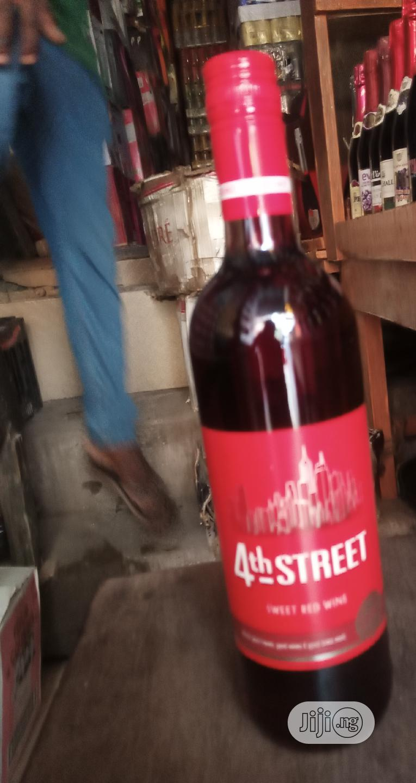 4th Street Sweet Red Wine 2bottles