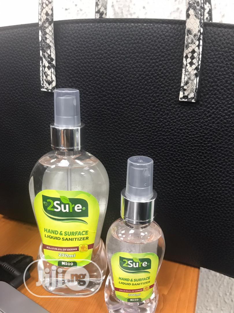 2sure Gel Hand Sanitizer 100ml | Skin Care for sale in Ikeja, Lagos State, Nigeria