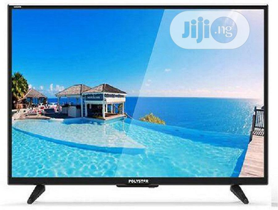"Polystar 43"" FULL HD LED TV With Free Bracket"