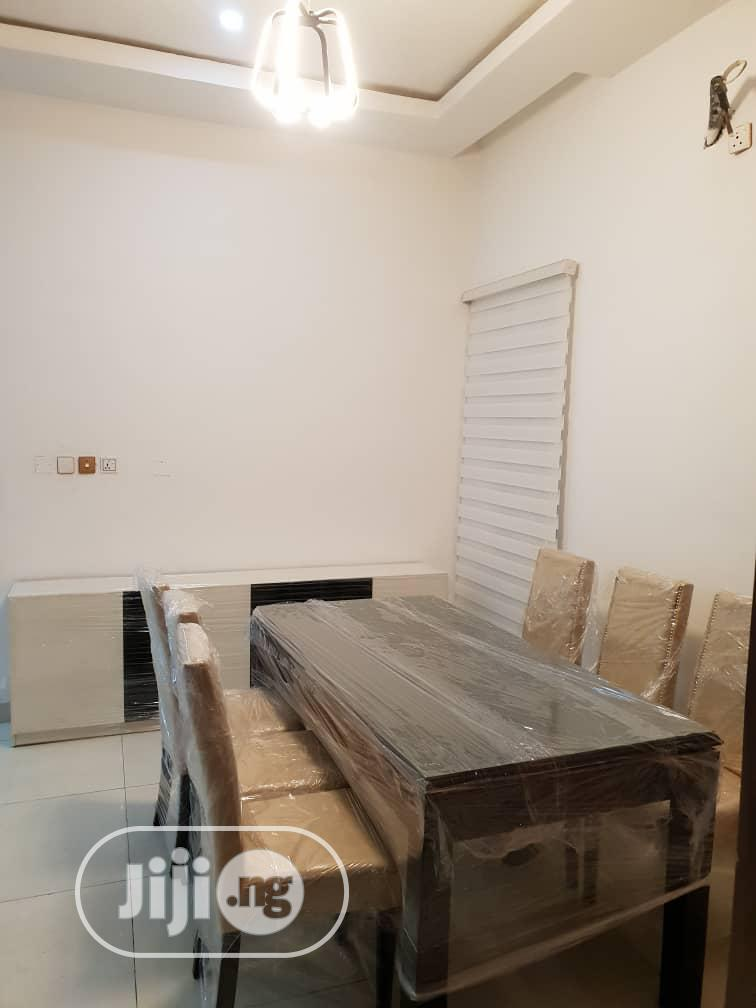 Wooden 6 Seater Dining Table And Chairs | Furniture for sale in Ikeja, Lagos State, Nigeria