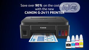 Canon G2411 Ink Tank AIO Wireless Printer | Printers & Scanners for sale in Lagos State, Ikeja