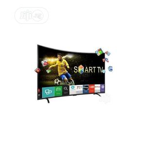 """Polystar 55"""" Inches Curved UHD 4K Smart TV   TV & DVD Equipment for sale in Lagos State, Ikeja"""
