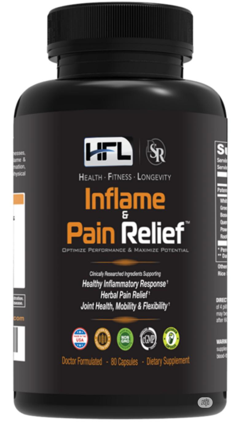 HFL Inflame & Pain Relief, Herbal Joint Pain,Flexibility,Mob
