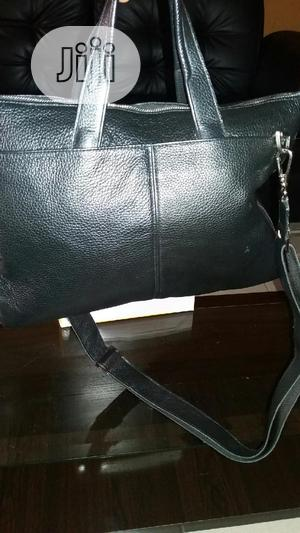 Office Black Leather Hand Bag   Bags for sale in Lagos State, Alimosho