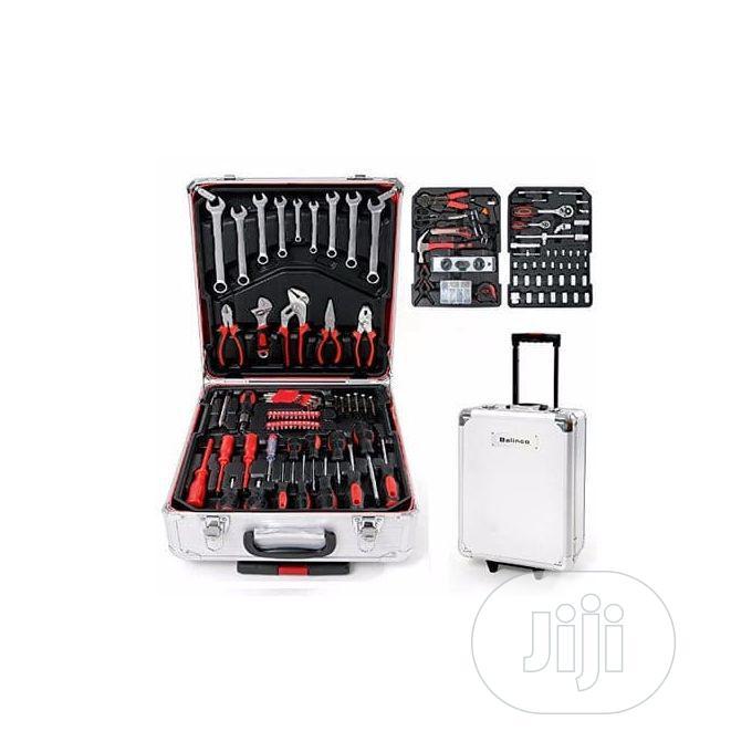 186+Pcs Tool Box Set (Mechanical and Electrical Uses