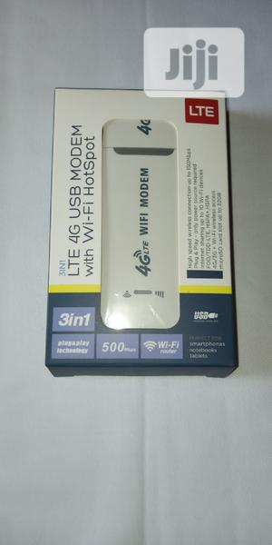 LTE 4G USB Modem With Wifi Hotspot | Networking Products for sale in Lagos State, Victoria Island