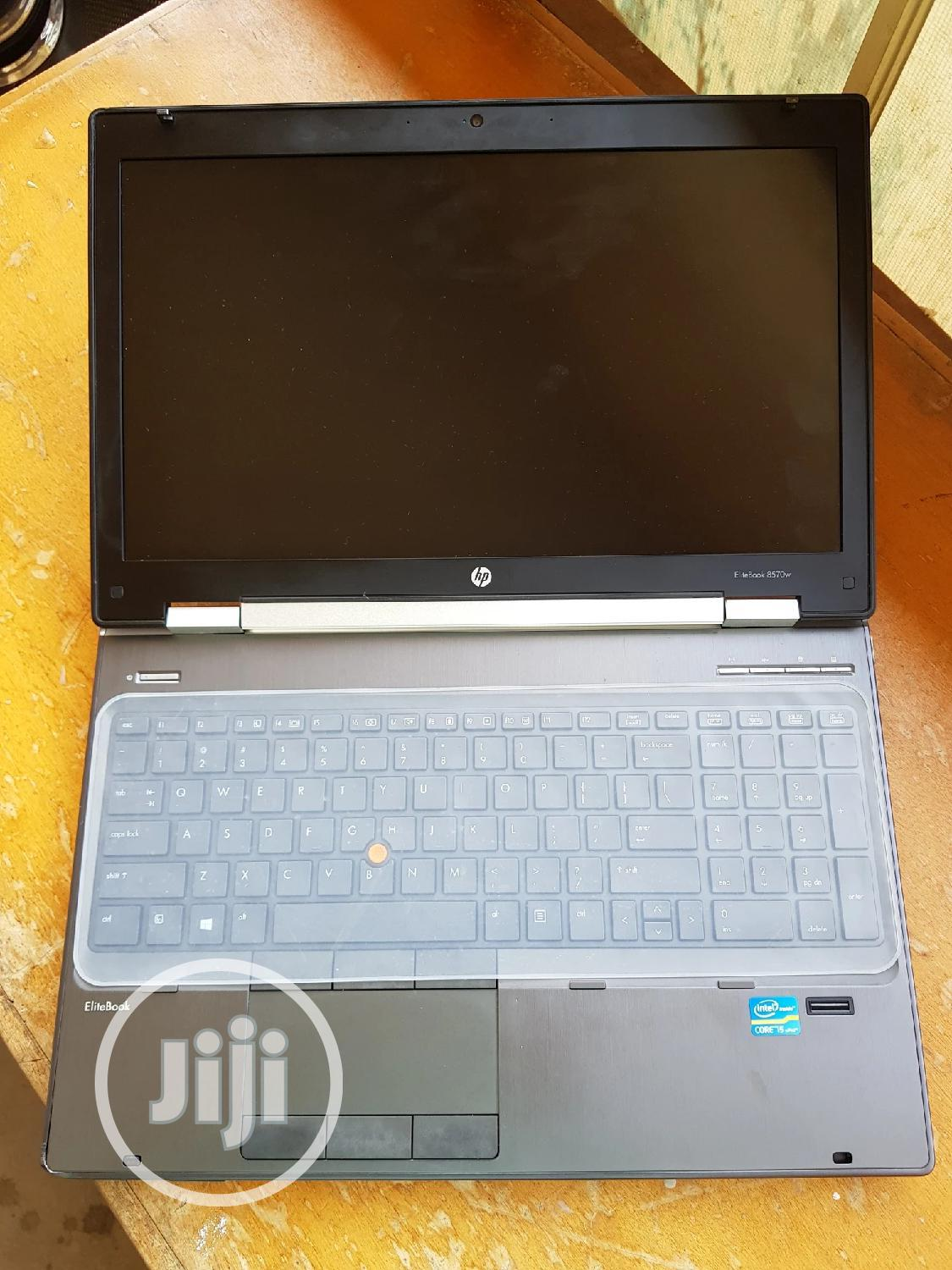 Laptop HP EliteBook 8570W 8GB Intel Core i5 HDD 500GB | Laptops & Computers for sale in Wuse, Abuja (FCT) State, Nigeria