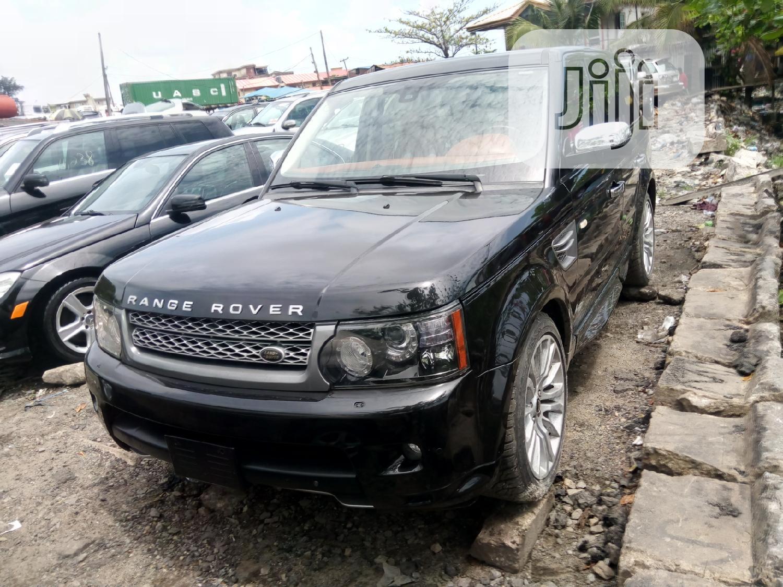 Land Rover Range Rover Sport 2011 Black