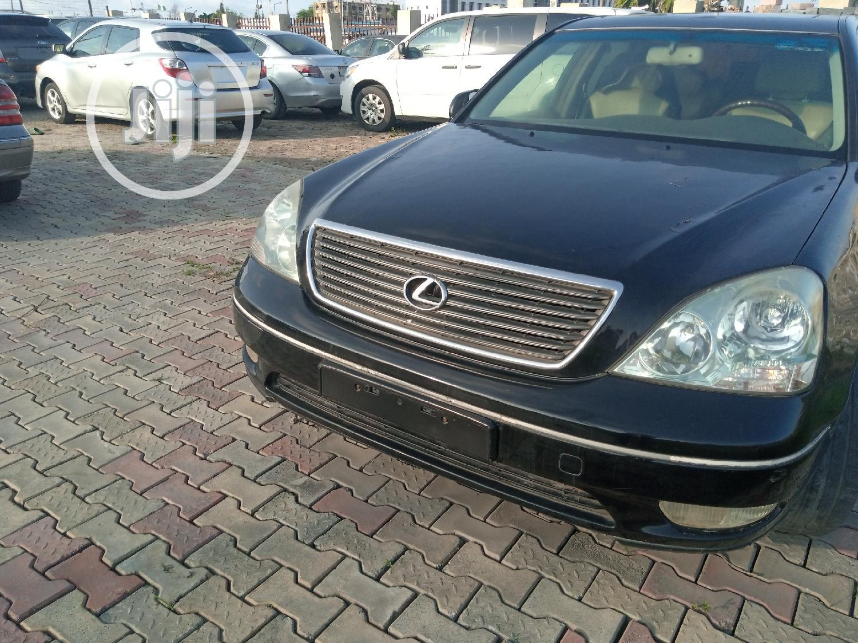 Archive: Lexus LS 2001 Black