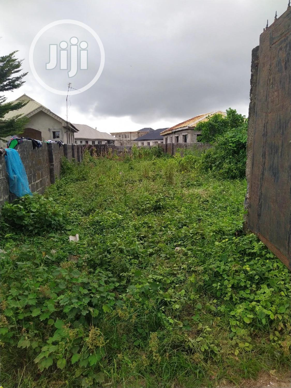 Archive: Plot of Land at Ayeteju Ofiran Before Afribank Estate