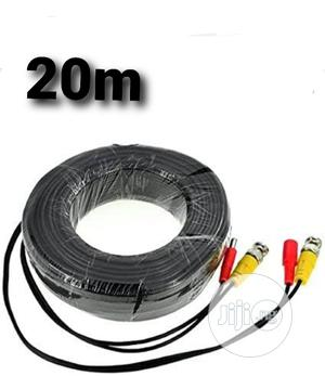 20m Power And Video CCTV BNC Cable Is Made For Cameras.   Accessories & Supplies for Electronics for sale in Lagos State, Ikeja