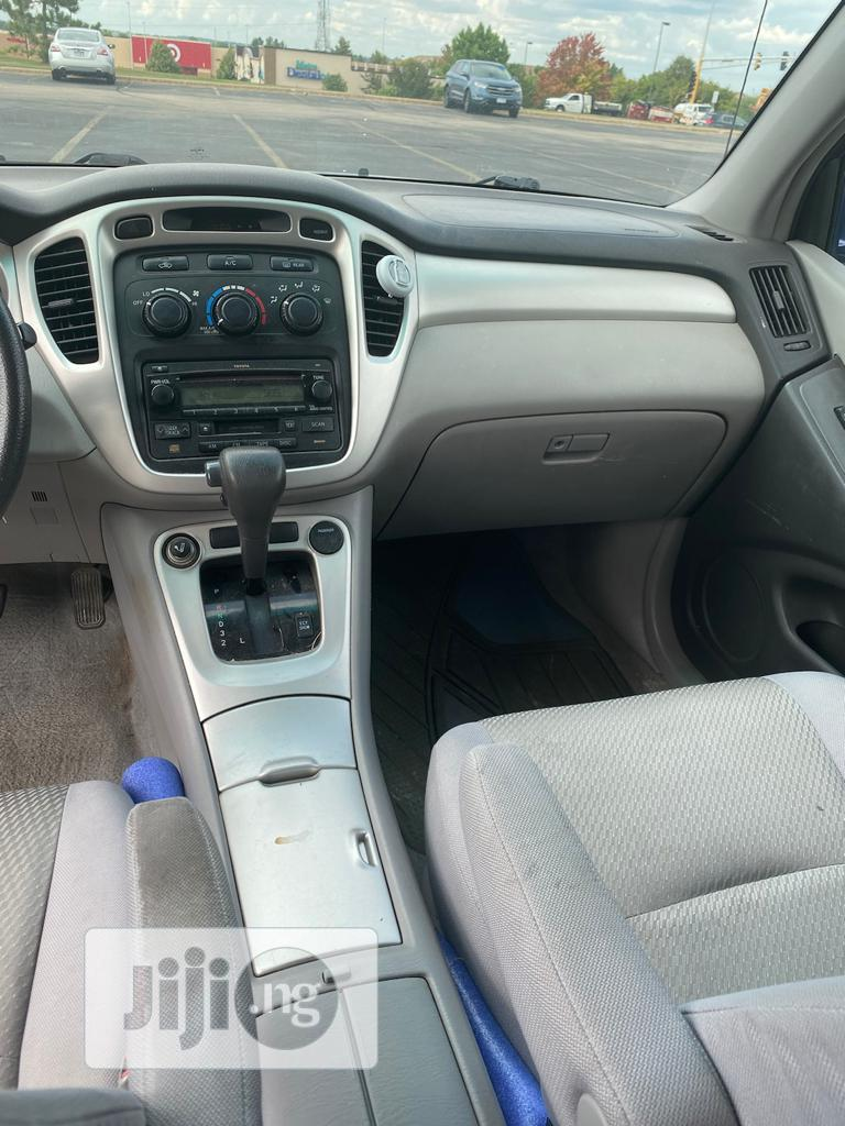 Toyota Highlander 2006 Limited V6 4x4 Blue | Cars for sale in Ikeja, Lagos State, Nigeria