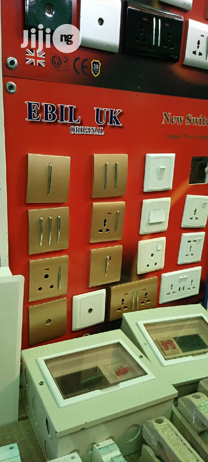 Quality Modern UK New Switches And Sockets