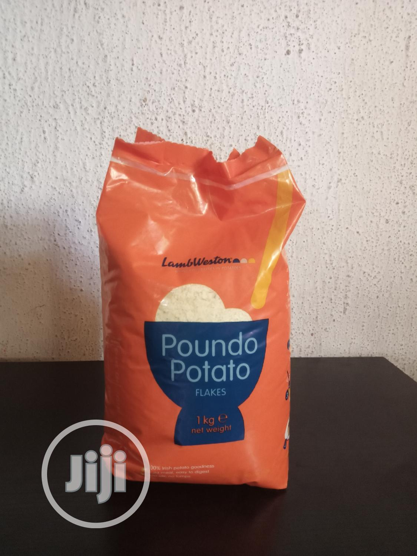 Poundo Potato 2pieces