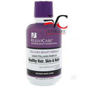 Rejuvicare Collagen Healthy Hair Skin Nails Grape 480ml   Vitamins & Supplements for sale in Lagos State, Ojo
