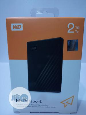 2TB External WD My Passport Hard Drive   Computer Hardware for sale in Lagos State, Ikeja