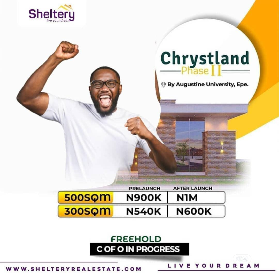 Archive: Plot of Land in Chrystland Estate Phase 2 for Sale