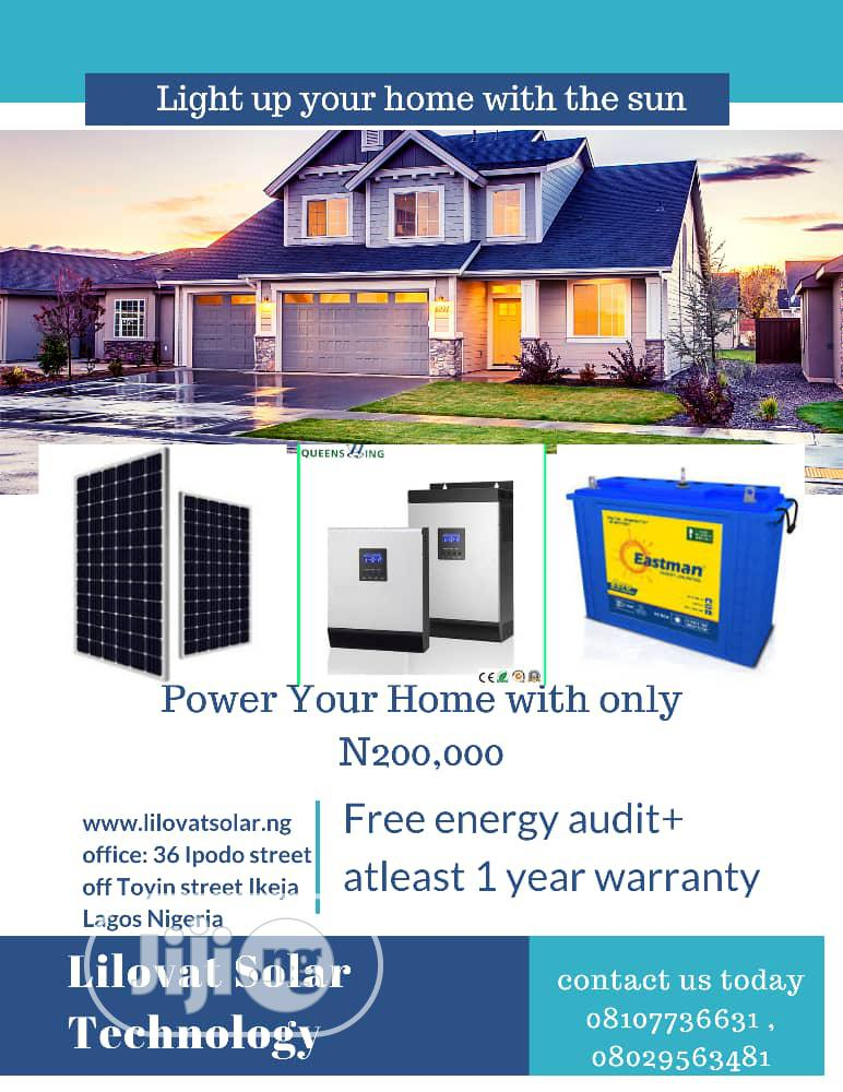 Cheap Solar Installation