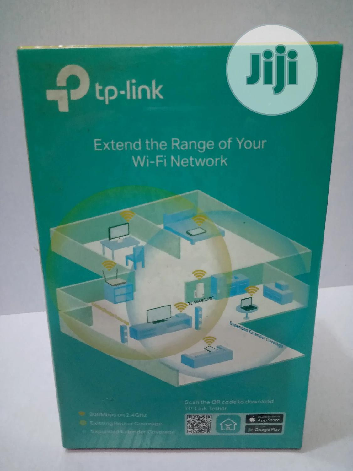 TP Link Range Extender TL-WA850RE 300mbps Wi-fi   Networking Products for sale in Ikeja, Lagos State, Nigeria