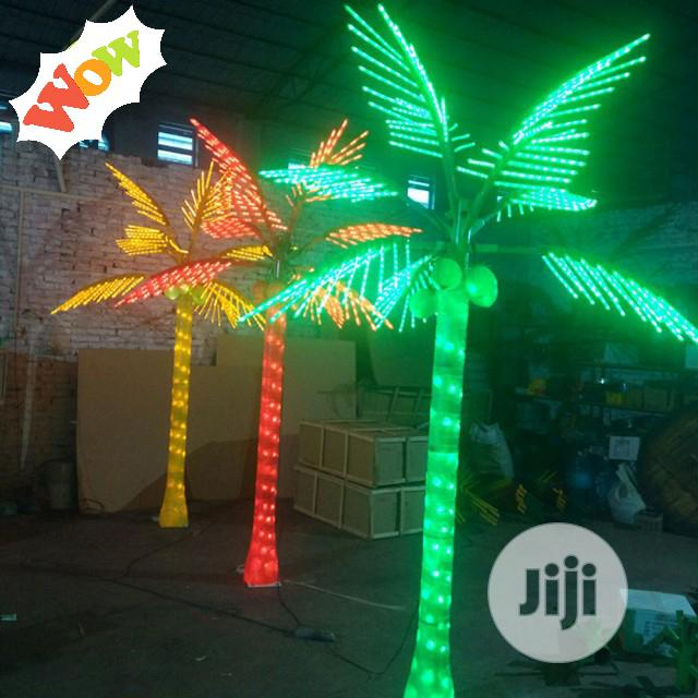 Led Coconut Christmas Light Outdoor Artificial Palm Trees