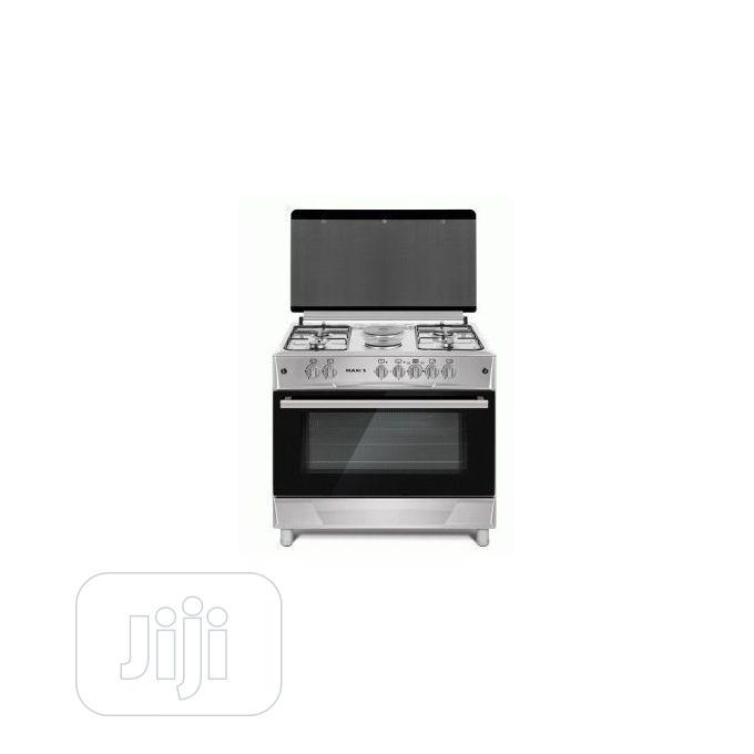 MAXI Gas Cooker 60*90 (4 + 2 ) INOX O25