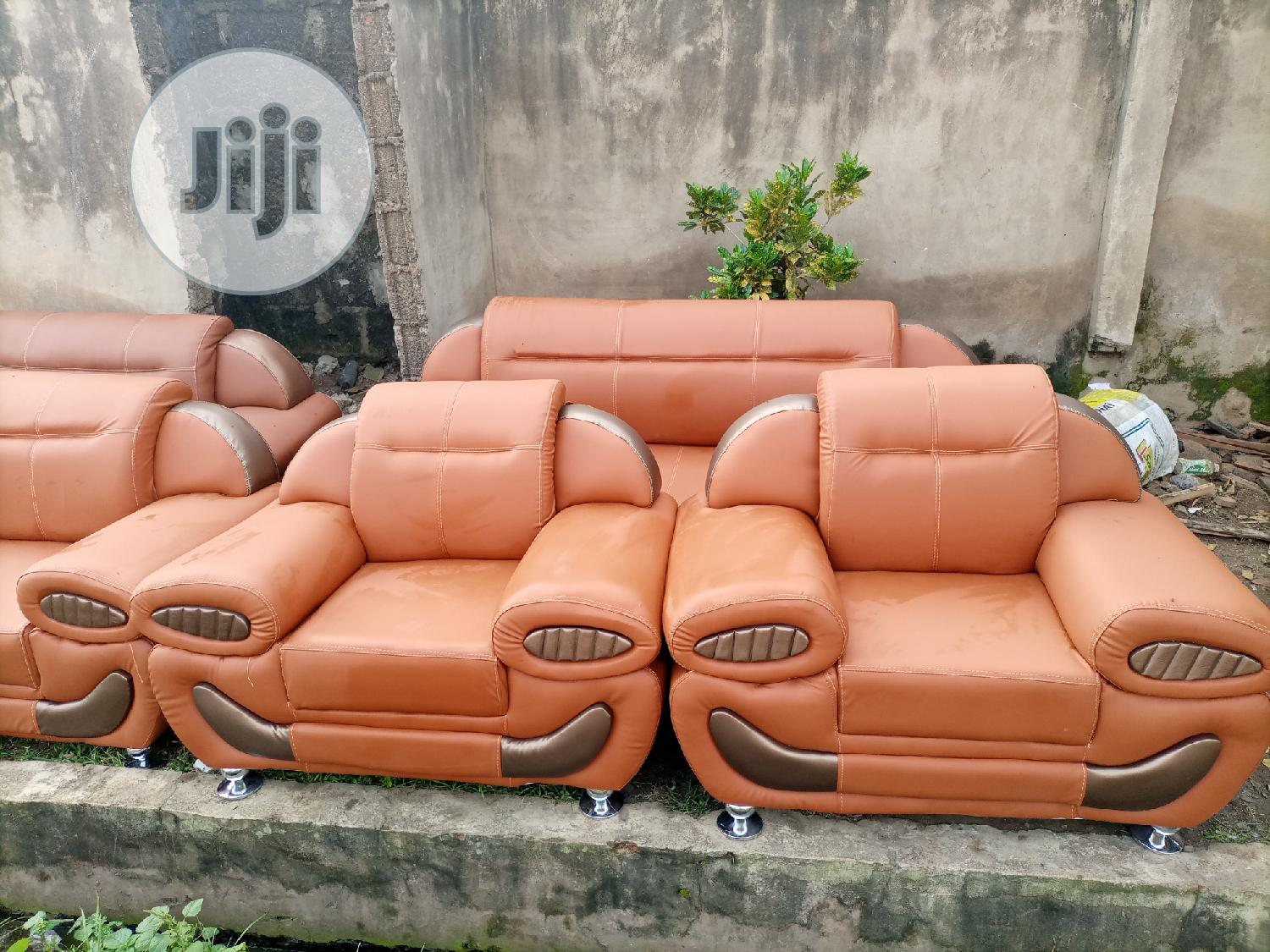 Complete Set Of Learher Sofa For Sale