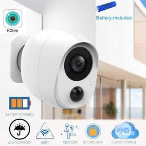 Battery Powered WIFI IP Camera 1080P | Security & Surveillance for sale in Lagos State, Ikeja