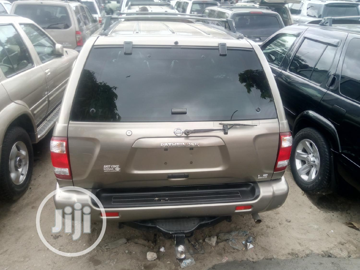 Nissan Pathfinder 2002 LE AWD SUV (3.5L 6cyl 4A) Brown | Cars for sale in Apapa, Lagos State, Nigeria