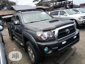 Toyota Tacoma 2008 4x4 Double Cab Gray | Cars for sale in Lagos State, Apapa