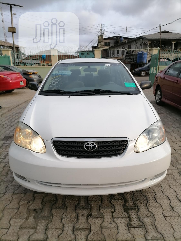 Archive Toyota Corolla 2005 White In Ilupeju Cars Sibe Sibe Motors Jiji Ng