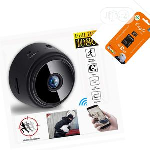 A9 Wifi 1080P Full HD Night Vision Wireless IP Camera/32gb C | Security & Surveillance for sale in Lagos State, Ikeja