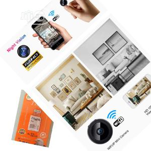 A9 Wifi 1080P HD Night Vision Wireless IP Camera With(32gb | Security & Surveillance for sale in Lagos State, Ikeja