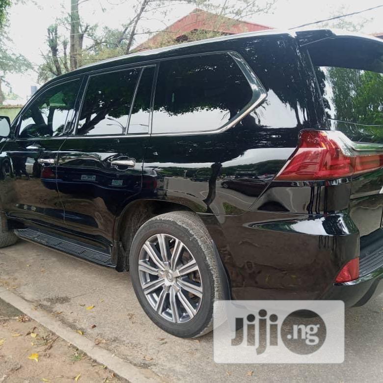 Lexus LX 2018 570 Three-Row Black | Cars for sale in Maitama, Abuja (FCT) State, Nigeria